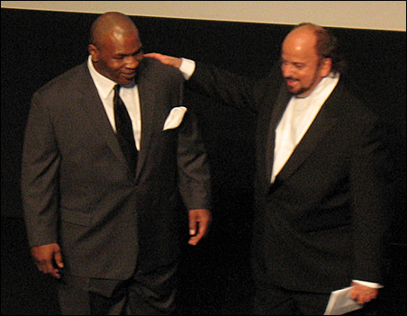Mike Tyson and director James Toback
