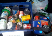 Food donations for STEP