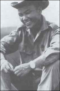 Laotian Gen. Vang Pao, in a photo taken in the early 1960s, somewhere in Indochina.