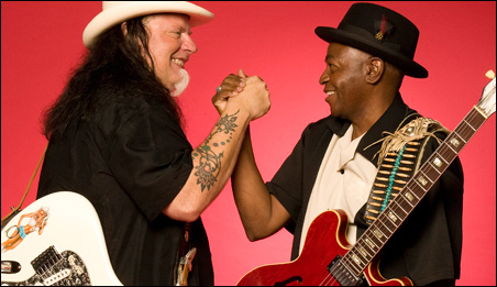 Smokin' Joe Kubek and Bnois King.