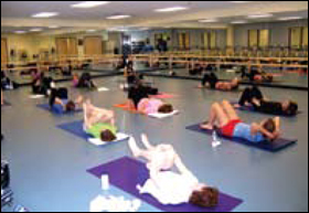 Sabes' full-service health and wellness center includes current exercise equipment, professional personal training, group exercise classes, sports and aquatics programs.