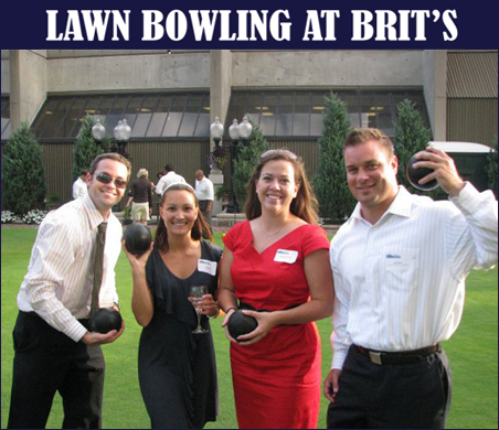 DRIVE Lawn Bowling at Brit's