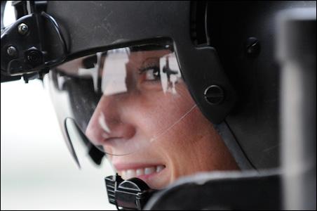 Blackhawk pilot Capt. Andrea Ourada