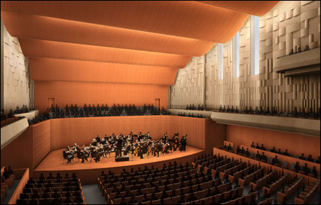 The Arts Partnership announced today that they have commitments for $51 million of the $75 million needed for or a new concert hall in St. Paul's Ordway Center.