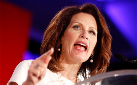 If Bachmann is right about Obama's secret intentions, the president would be moving in her and Paul Ryan's direction.