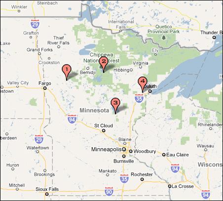 Bureau of Indian Education schools in Minnesota