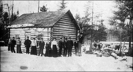 A region's original wave of settlers, like this Minnesota family, would have contributed more to its gene pool than later arrivals.