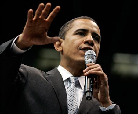 Sen. Barack Obama in Dallas