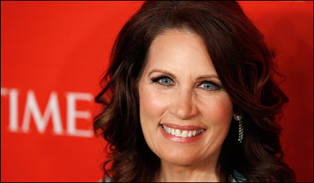 Rep. Bachmann was honored at the 2011 Time 100 Gala ceremony in April.