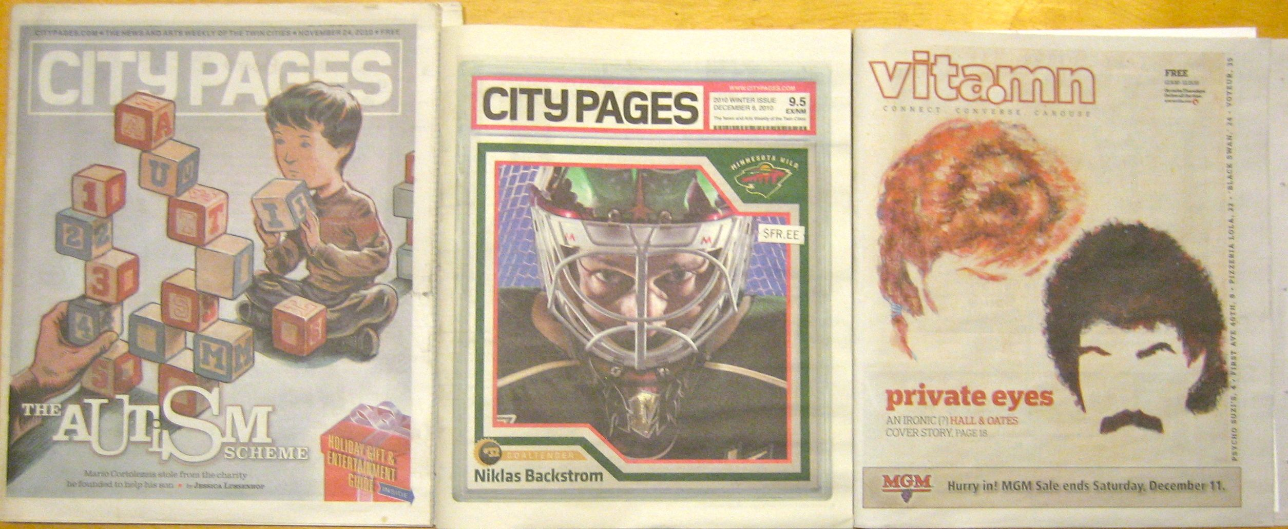 City Pages old and new, with Vita.mn