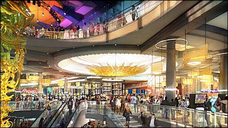 Interior design of proposed Block E casino