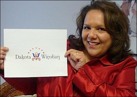 Dakota Wicohan co-founder Teresa Peterson.