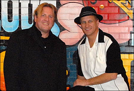 Bluesman and festival organizer Paul Metsa, left, and music partner Sonny Earl will be in the lineup.
