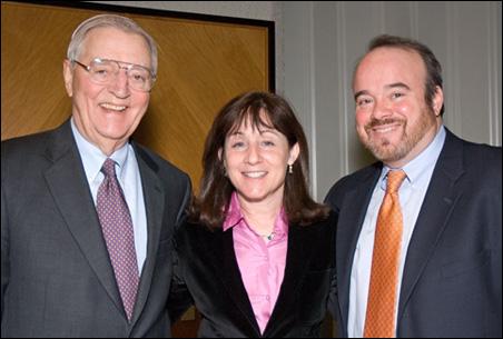 Walter Mondale, Jane Mayer, Larry Jacobs
