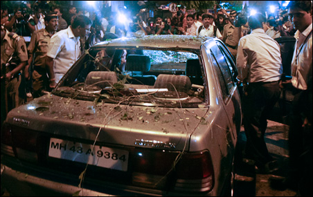 Three explosions have shaken India's commercial capital Mumbai.