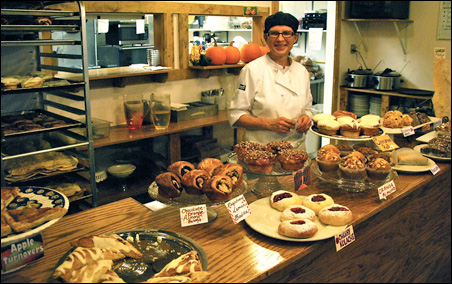 Noreen Ovadia Wills, owner of Coco Cafe and Bakery, one of the film festival sponsors.