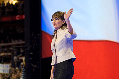 Gov. Palin's speech on Wednesday was a clear hit with delegates.