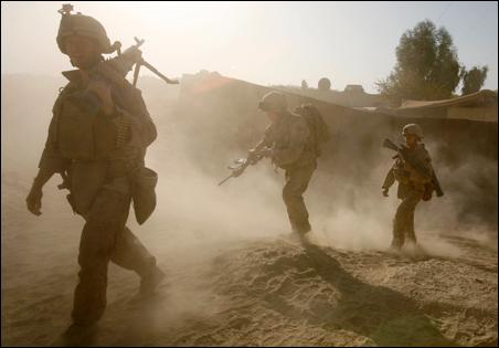 U.S. Marines of the 8th regiment
