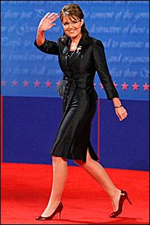 Sarah Palin, at the vice presidential debate.