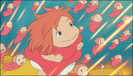 """A scene from the charmingly unpredictable """"Ponyo."""""""