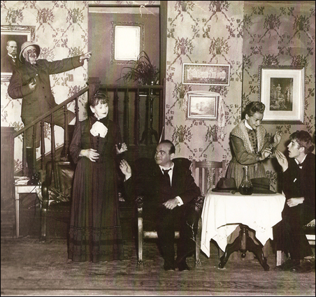 "The Old Log Theater's 1947 production of ""Arsenic and Old Lace."""