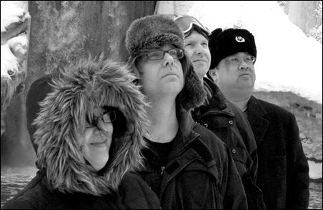 Atomic Flea, from left to right: Becky Hanson, Mike Senkovich, Eric Kreidler, John Hizon