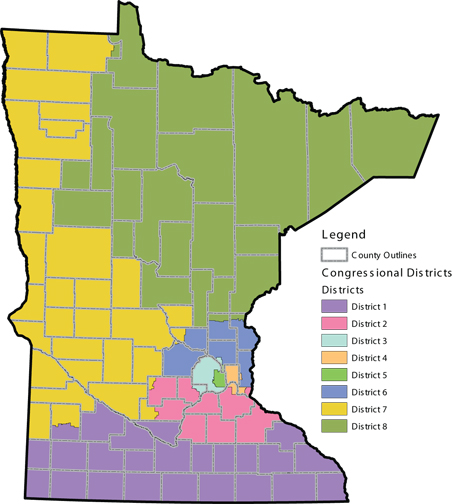 Redistricting plan proposed by the nonpartisan Citizens' Redistricting Commission