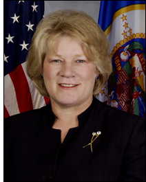 Lieutenant Gov. Carol Molnau