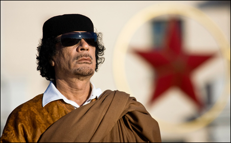 A wounded Muammar Gaddafi was captured Thursday by rebel fighters — he later died from his wounds