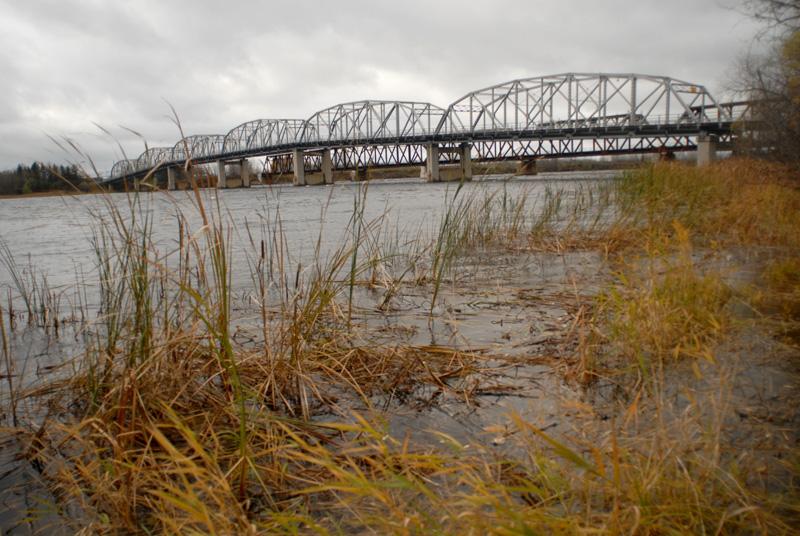 Highway 72 bridge in Baudette