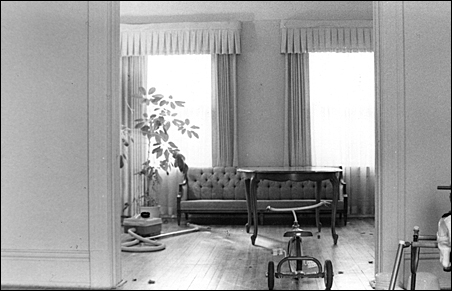 July 1973: The last day in the house at 157-A Taylor Ave.