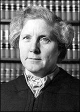Judge Rosalie Wahl, circa 1978