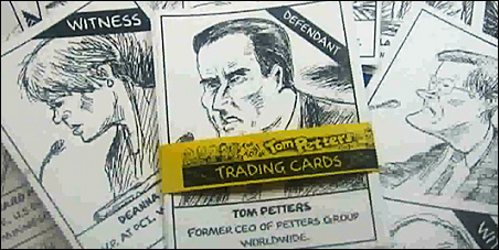 Tom Petters trading cards