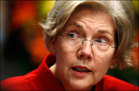 """Elizabeth Warren: """"We don't need one more weak federal agency. Our regulatory system failed us."""""""