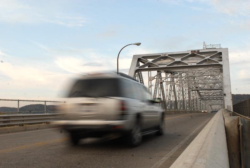 Highway 43 bridge in Winona