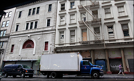 The lower Manhattan building that will possibly house the Cordoba Initiative Mosque and Cultural Center.