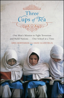 """Three Cups of Tea"""