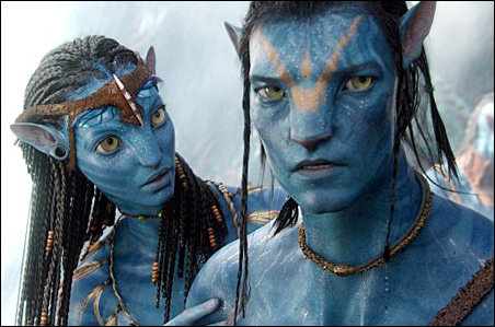 """A scene from the film """"Avatar."""""""