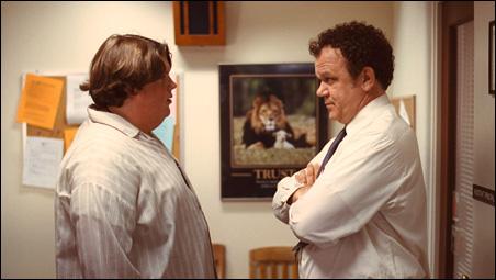 """Jacob Wysocki and John C. Reilly in """"Terri."""""""
