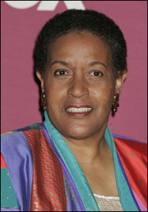 <strong>Myrlie Evers-Williams, shown here attending the 36th NAACP Image Awards in Los Angeles March 19, 2005.</strong>