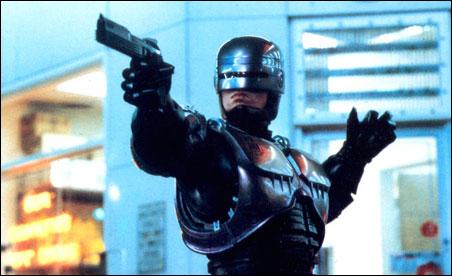 """Peter Weller in """"Robocop"""""""