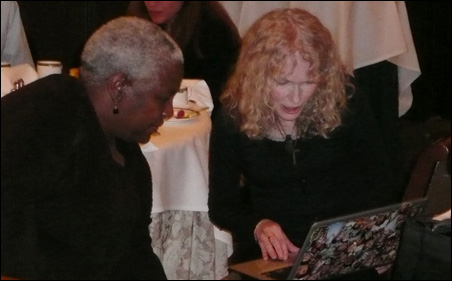 """Mia Farrow, right, is chairing a campaign called """"Dream for Darfur."""""""