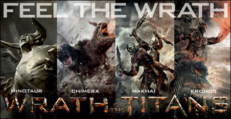 """Wrath of the Titans,"" forthcoming this March"