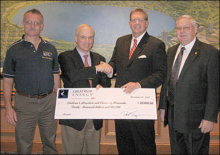Great River Energy Bicycle Festival donates $30,000