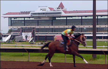 With the close of racing season, Canterbury Park  racetrack celebrates its 25th year on Sunday.