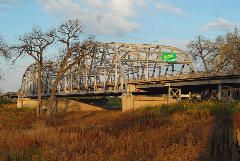 Highway 2 Kennedy Bridge in East Grand Forks