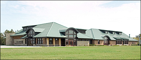 The Wm. S. Marvin Training and Visitor Center, located in Warroad.