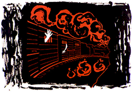 Artwork by Dr. Robert Fisch, Holocaust survivor.