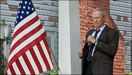 """Clint Eastwood in """"Gran Torino."""""""