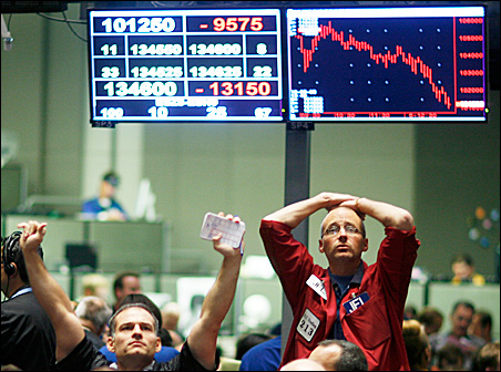 Traders working in the S&P 500 pit at the Chicago Mercantile Exchange are worried about the financial crisis, and so are the rest of us. But what can the average person do?